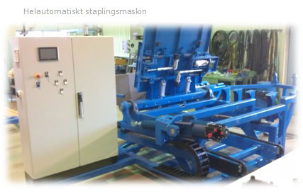 Helautomatisk-staplingsmaskin