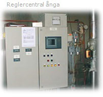 Reglercentral-ånga